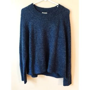 H&M Blue Pullover Sweater